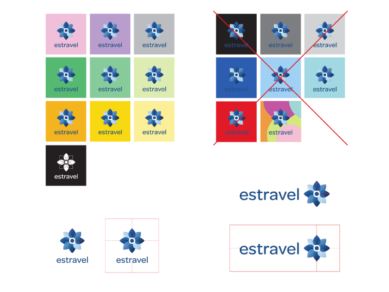 estravel logo rules