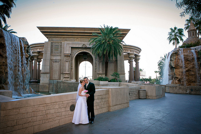 Wedding Ceremony In Mandalay Bay Hotel