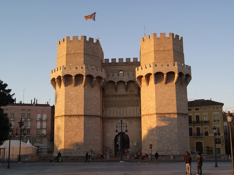 Old-Valencia-Famous-Architecture-Towers-Landmark-71387